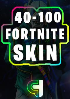40-100 Fortnite Skin